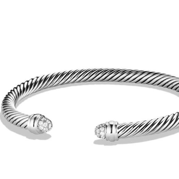 dc54066c164b81 David Yurman Jewelry   New Cable Bracelet Diamonds 5mm   Poshmark